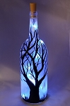 Blue Light Tree
